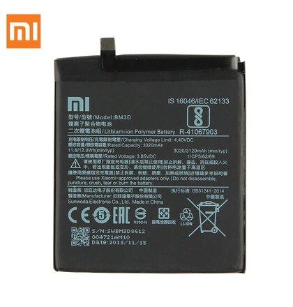 BM3D Xiaomi Original Baterie 3120mAh (Bulk)