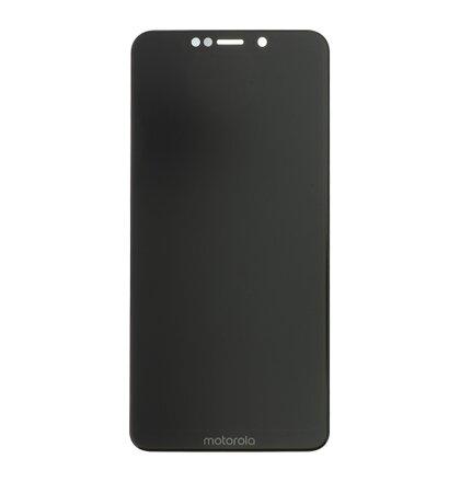 Motorola One LCD Display + Dotyková Deska Black