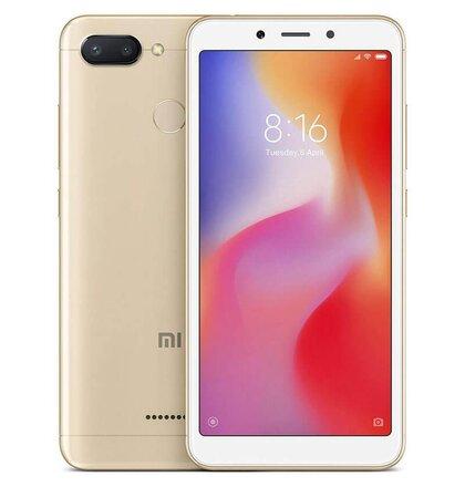 Xiaomi Redmi 6 3GB/64GB Dual SIM, Zlatý - SK distribúcia