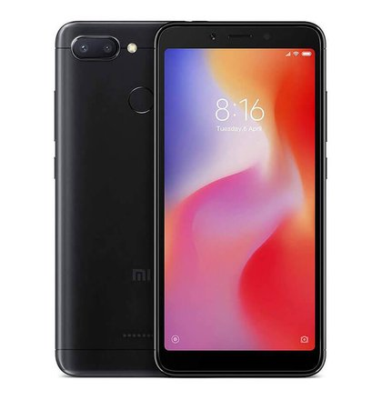Xiaomi Redmi 6 3GB/64GB Dual SIM, Čierny - SK distribúcia