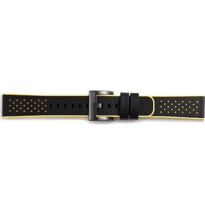 GP-R600BREEAAD Samsung Gear Sport Hybrid Sport Strap Black Yellow (EU Blister)