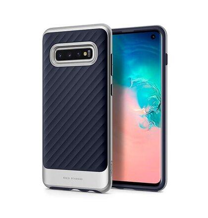 Puzdro Spigen Neo Hybrid Samsung Galaxy S10 G973 - silver