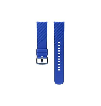 ET-YSN60MLE Samsung Watch 20mm Silikonový Řemínek Blue (EU Blister)