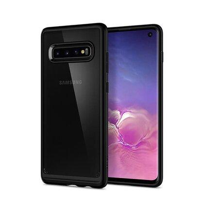 Puzdro Spigen Ultra Hybrid Samsung Galaxy S10 G973 - black