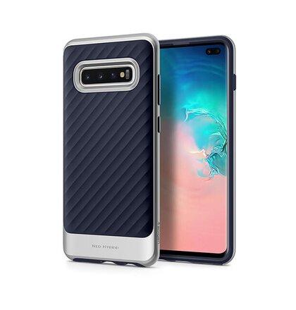 Puzdro Spigen Neo Hybrid Samsung Galaxy S10 Plus G975 - silver