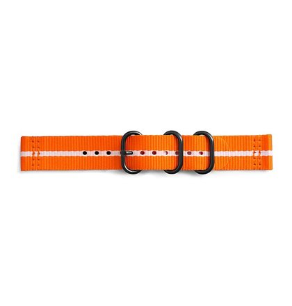 GP-R600BREECAG Samsung Gear Sport Studio Premium Nato Strap Orange/White (EU Blister)