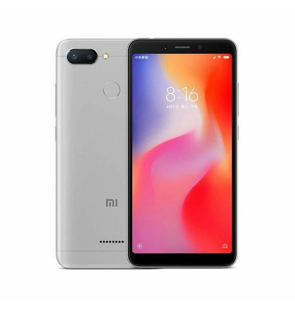 Xiaomi Redmi 6 3GB/32GB Dual SIM, Šedý - SK distribúcia