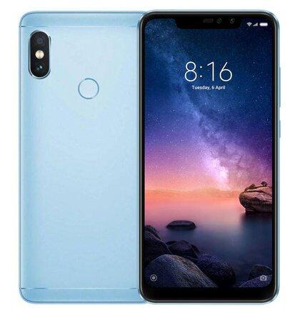 Xiaomi Redmi Note 6 Pro 3GB/32GB Dual SIM, Modrý - SK distribúcia
