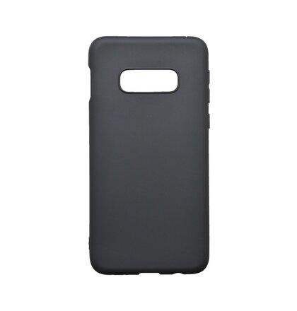 Gumené puzdro Samsung Galaxy S10e čierne matné