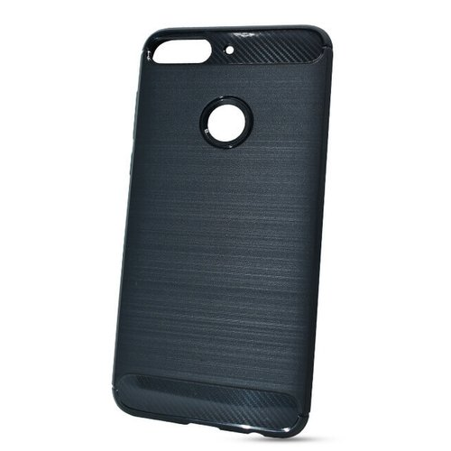 Puzdro Carbon Lux TPU HTC Desire 12+ - čierne