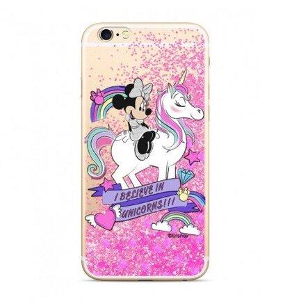 Puzdro Disney Shimmer Design TPU Huawei P20 Lite Minnie 035 - ružové