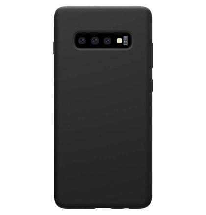 Nillkin Flex Pure Liquid Silikonové Pouzdro Black pro Samsung Galaxy S10