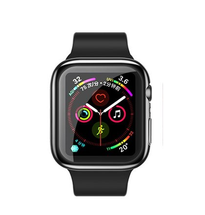 USAMS BH485 TPU Full Protective Pouzdro pro Apple Watch 40mm Black (EU Blister)