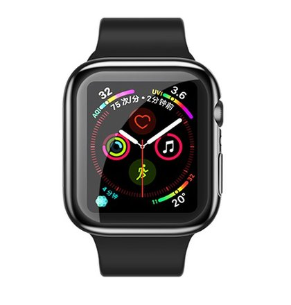 USAMS BH485 TPU Full Protective Pouzdro pro Apple Watch 40mm Transparent (EU Blister)