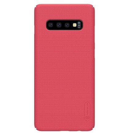 Nillkin Super Frosted Zadní Kryt pro Samsung Galaxy S10 Red