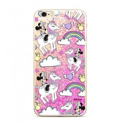 Puzdro Disney Shimmer Design TPU iPhone 5/5S/SE Minnie 037 - ružové