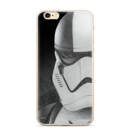 Star Wars Stormtrooper 001 Kryt pro iPhone 6/7/8 Black