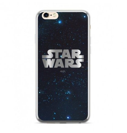 Star Wars Luxury Chrome 003 Kryt pro iPhone 6/6S/7/8 Silver
