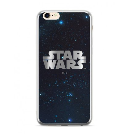 Star Wars Luxury Chrome 003 Kryt pro iPhone 6/6S Plus Silver