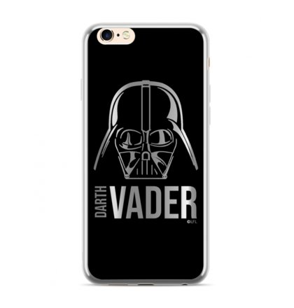 Star Wars Darth Vader Luxury Chrome 010 Kryt pro iPhone XS Max Silver