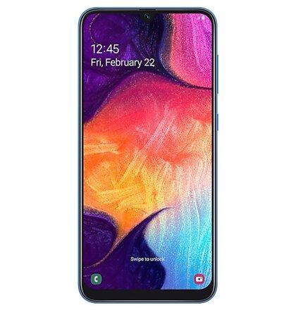 Samsung Galaxy A50 4GB/128GB A505 Dual SIM, Modrá - SK distribúcia