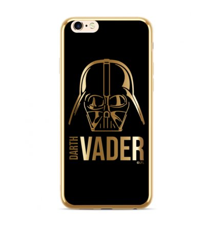 Star Wars Darth Vader Luxury Chrome 010 Kryt pro iPhone XS Max Gold