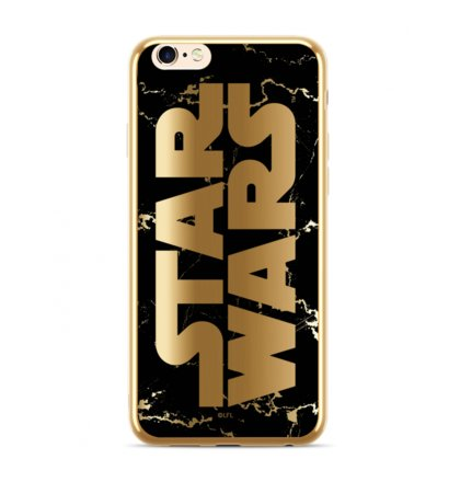 Star Wars Luxury Chrome 007 Kryt pro iPhone XS Max Gold