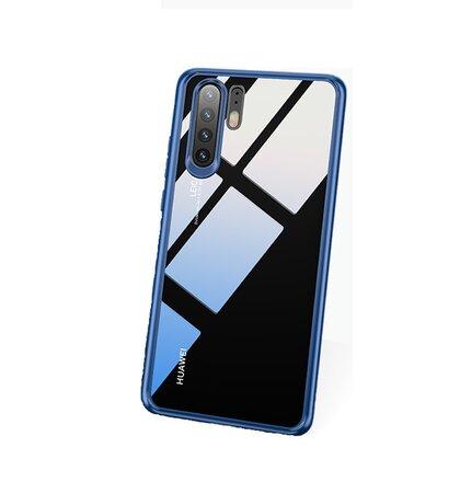 USAMS Mant Zadní Kryt pro Huawei P30 Blue