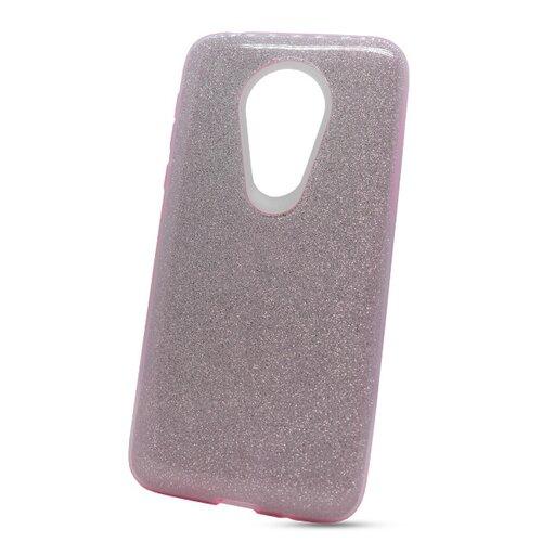 Puzdro Shimmer 3in1 TPU Moto G7 Power - ružové