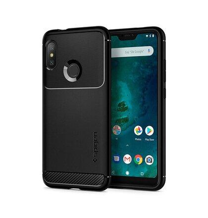 Puzdro Spigen Rugged Xiaomi Mi A2 Lite - black