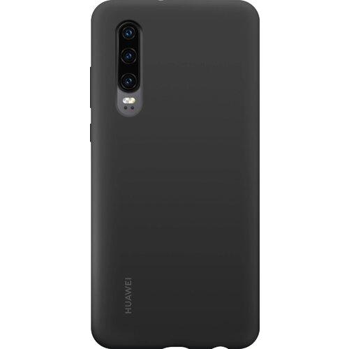 Huawei Original Silicone Car Pouzdro Black pro Huawei P30 (EU Blister)