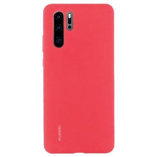 Huawei Original Silicone Pouzdro Red pro Huawei P30 Pro (EU Blister)