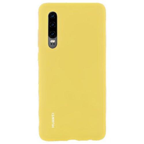 Huawei Original Silicone Car Pouzdro Yellow pro Huawei P30