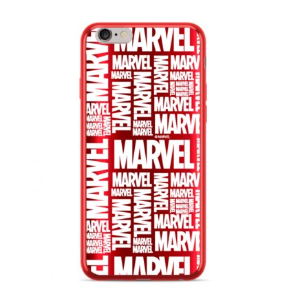 MARVEL 003 Zadní Kryt pro iPhone XR Red
