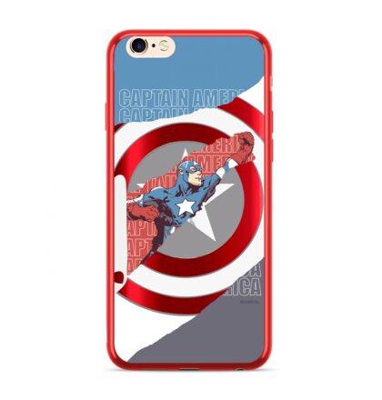 MARVEL Captain America 013 Zadní Kryt pro iPhone 7/8 Red