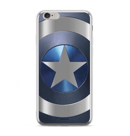 MARVEL Captain America 005 Zadní Kryt pro iPhone XR Silver