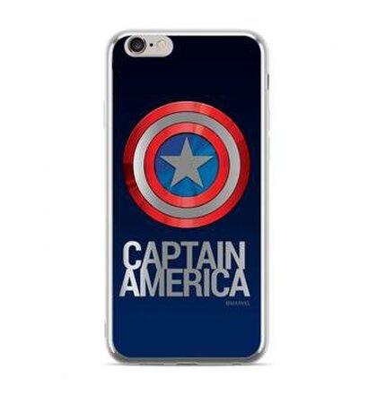 MARVEL Captain America 001 Zadní Kryt pro iPhone 7/8 Silver