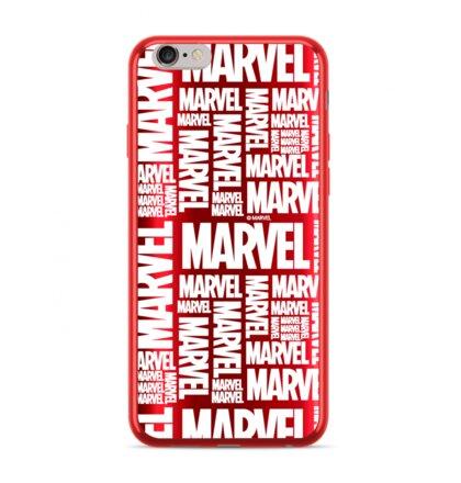 MARVEL 003 Zadní Kryt pro iPhone XS Max Red