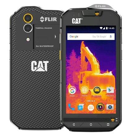 Caterpillar CAT S60 Dual, Čierny - SK distribúcia
