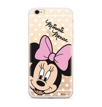 Disney Minnie 008 Back Cover pro iPhone X Transparent