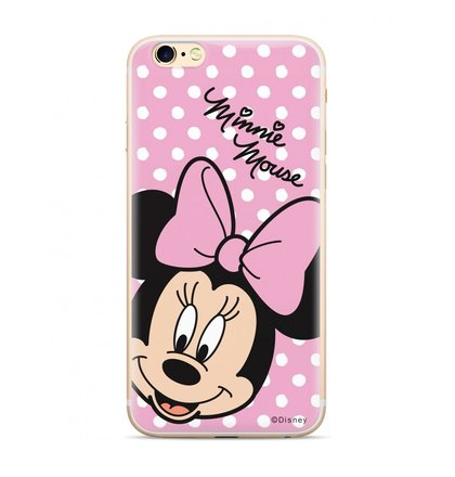 Disney Minnie 008 Back Cover pro iPhone XR Pink