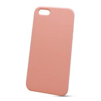 Puzdro Liquid TPU iPhone 5/5s/SE - svetlo-ružové