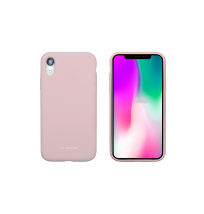 SoSeven Smoothie Silikonový Kryt pro iPhone XR Pink (EU Blister)