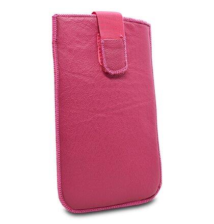 Puzdro Uni Koža, sk výroba suchý zips, veľkosť 27 - ružové