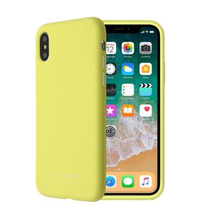SoSeven Smoothie Silikonový Kryt pro iPhone 7/8 Yellow (EU Blister)