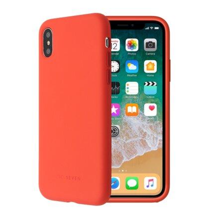 SoSeven Smoothie Silikonový Kryt pro iPhone 7/8 Orange (EU Blister)