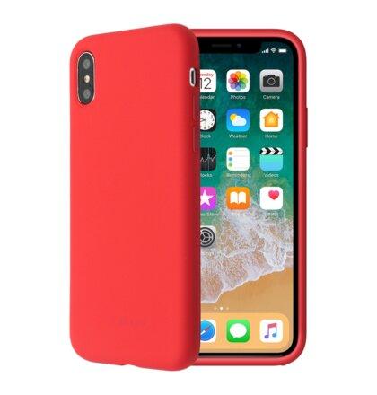 SoSeven Smoothie Silikonový Kryt pro iPhone 7/8 Red (EU Blister)