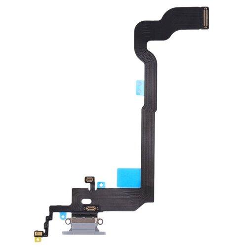 Apple iPhone X - Flex Kábel Nabíjacieho Konektora - Biely