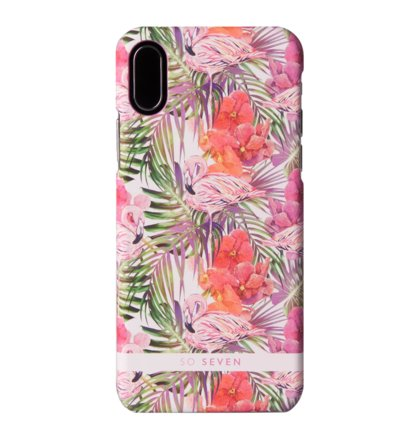 SoSeven Fashion Rio Flamingo Kryt pro iPhone X/XS Pink (EU Blister)