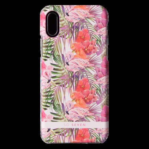 SoSeven Fashion Rio Flamingo Kryt pro iPhone X/XS Pink (EU Blister)